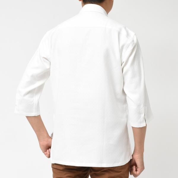 Giannetto(ジャンネット)コットンダイヤドビーカプリシャツ AG720SUM84 11091014109|guji|03