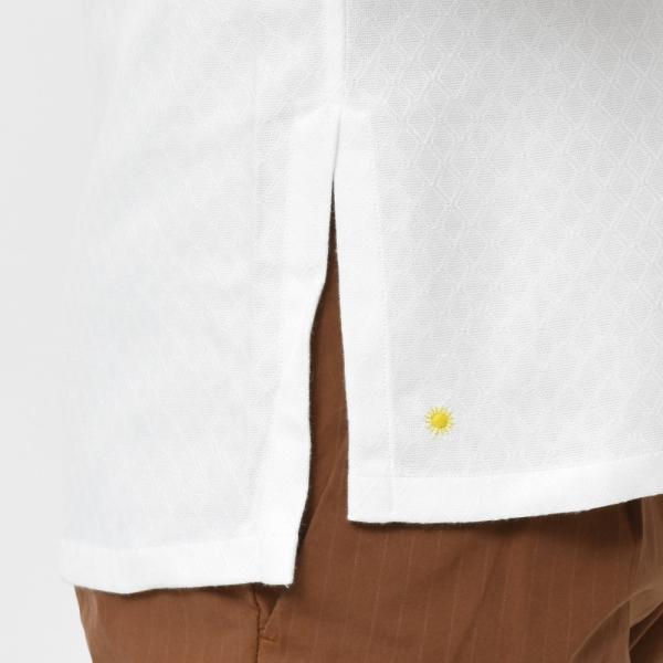 Giannetto(ジャンネット)コットンダイヤドビーカプリシャツ AG720SUM84 11091014109|guji|07