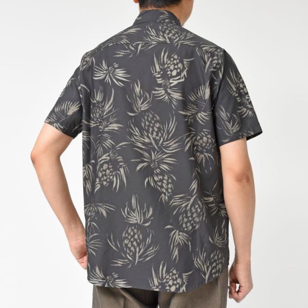SeaGreen(シーグリーン)コットンボタニカルレギュラーカラーS/Sシャツ MSG19S765 11091400043|guji|13