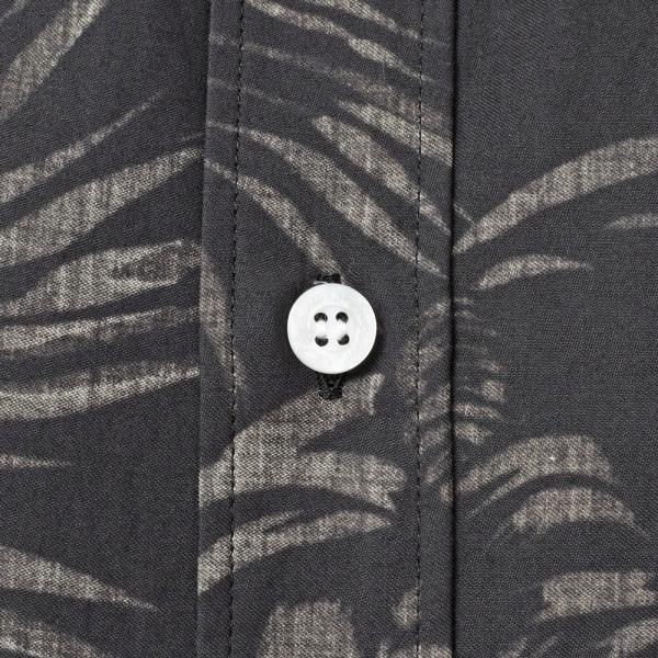 SeaGreen(シーグリーン)コットンボタニカルレギュラーカラーS/Sシャツ MSG19S765 11091400043|guji|16