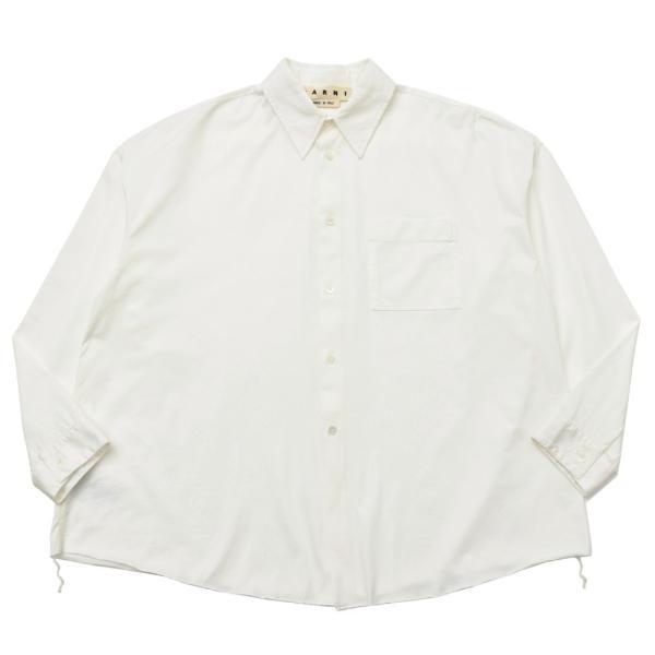 MARNI(マルニ)コットンカットソーレギュラーカラーシャツ CUMU0046 11091402138|guji
