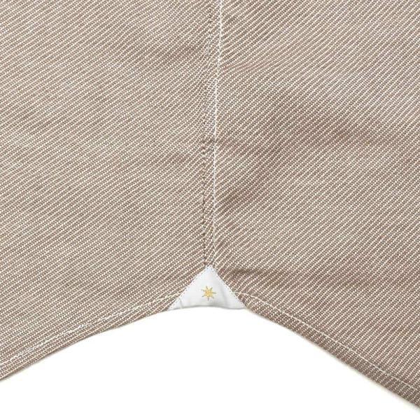 Bagutta(バグッタ)コットンダイアゴナルフランネルソリッドハイネックシャツ NECK GBL/09553 11092001054|guji|14