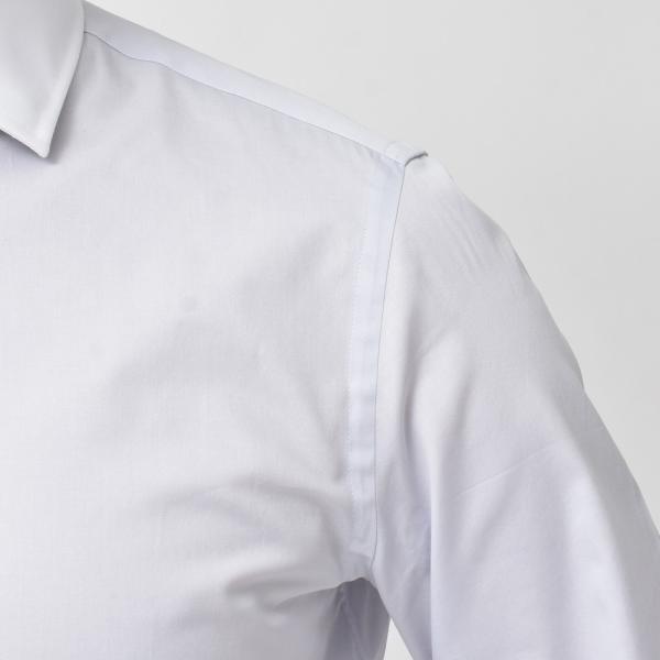GUY ROVER(ギ ローバー)コットンツイルソリッドワイドカラークレリックシャツ W2530/582102 11191201027|guji|05