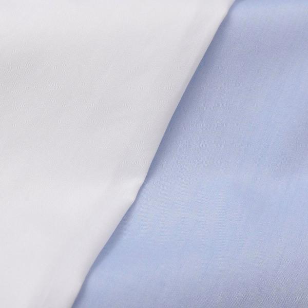 Finamore(フィナモレ)VITTORIOヴィットリオ/MILANOミラノ コットンブロードソリッドセミワイトカラーシャツ P9078 11191201039◇◇|guji|15