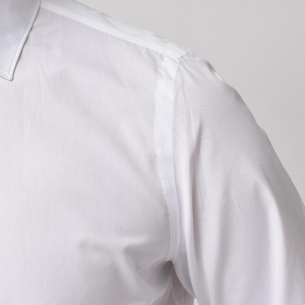Finamore(フィナモレ)VITTORIOヴィットリオ/MILANOミラノ コットンブロードソリッドセミワイトカラーシャツ P9078 11191201039◇◇|guji|05