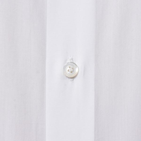 Finamore(フィナモレ)VITTORIOヴィットリオ/MILANOミラノ コットンブロードソリッドセミワイトカラーシャツ P9078 11191201039◇◇|guji|07