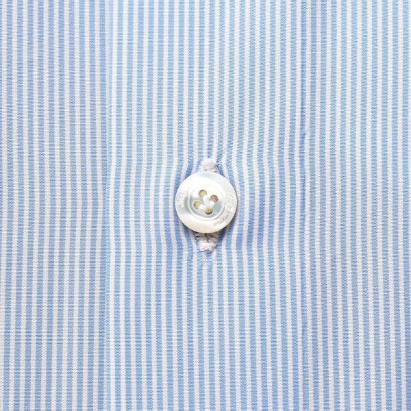 Finamore(フィナモレ)VITTORIOヴィットリオ/MILANOミラノ コットンブロードストライプセミワイドカラーシャツ P9209 11191202039◇◇|guji|07