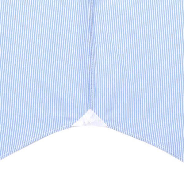 Finamore(フィナモレ)VITTORIOヴィットリオ/MILANOミラノ コットンブロードストライプセミワイドカラーシャツ P9209 11191202039◇◇|guji|08