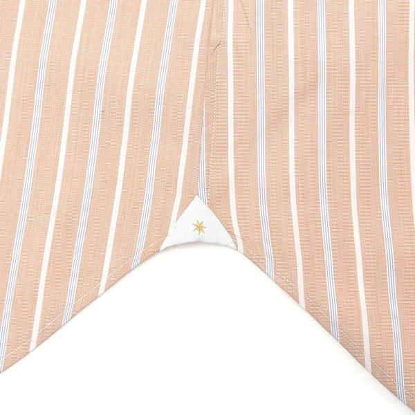 Bagutta(バグッタ)コットンオルタネイトストライプセミワイドカラークレリックシャツ 389GLB/05957 11191202054 guji 08