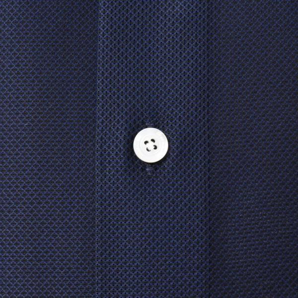 Finamore(フィナモレ)VITTORIOヴィットリオ/MILANOミラノ コットンメッシュソリッドセミワイドカラーシャツ P9176 11191204039|guji|07