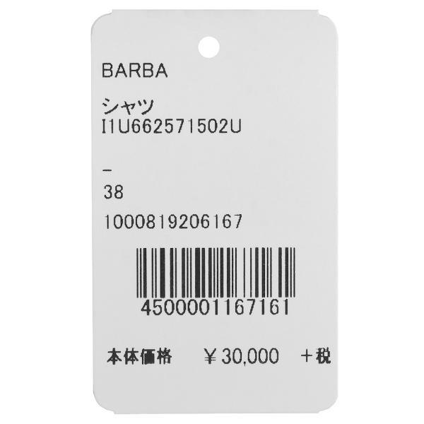 BARBA(バルバ)406 コットンピンヘッドソリッドワイドカラークレリックシャツ I/5715/U 11191206022|guji|10