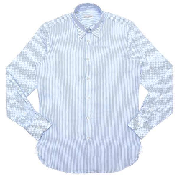 GUY ROVER(ギ ローバー)コットンピンオックスロンドンストライプタブカラーシャツ W2800/592205 11192202027 guji