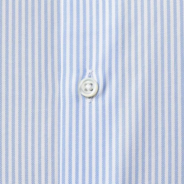 GUY ROVER(ギ ローバー)コットンピンオックスロンドンストライプタブカラーシャツ W2800/592205 11192202027 guji 07