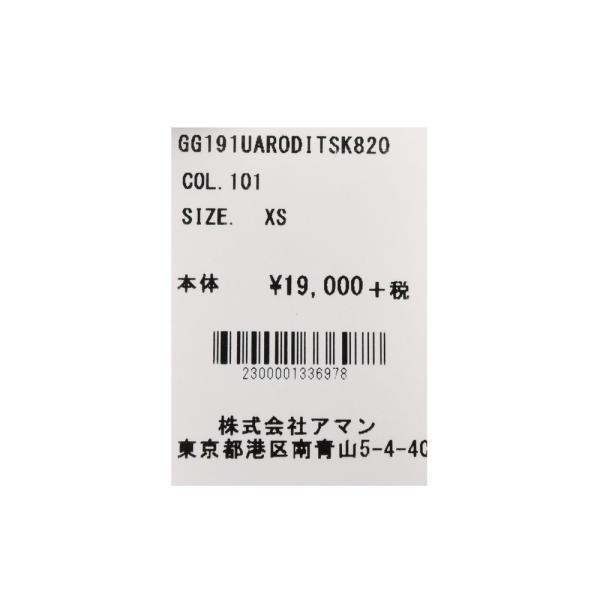 【MORE VARIATION FAIR】THE GIGI(ザ ジジ)RODI コットンクルーネックロゴプリントカットソー TS-K82 12195400039|guji|11