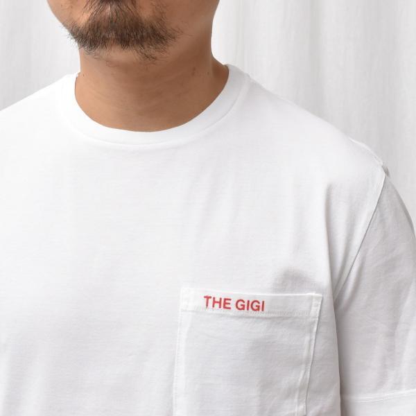 【MORE VARIATION FAIR】THE GIGI(ザ ジジ)RODI コットンクルーネックロゴプリントカットソー TS-K82 12195400039|guji|04