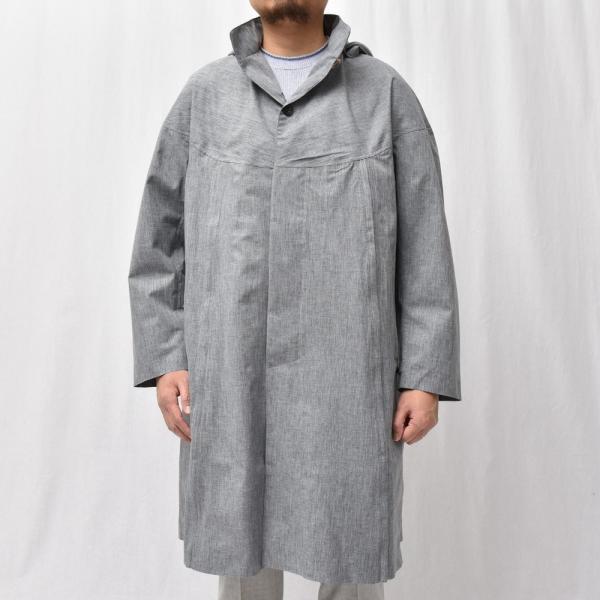 Norwegian Rain(ノルウェージャンレイン)リサイクルポリエステルメランジフーデッドコート PRAGUE/426-9152956 14191401106◇◇|guji|03