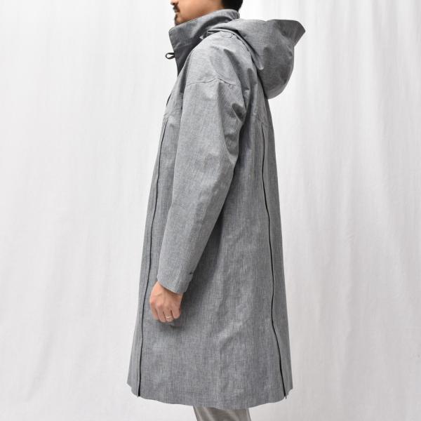 Norwegian Rain(ノルウェージャンレイン)リサイクルポリエステルメランジフーデッドコート PRAGUE/426-9152956 14191401106◇◇|guji|05