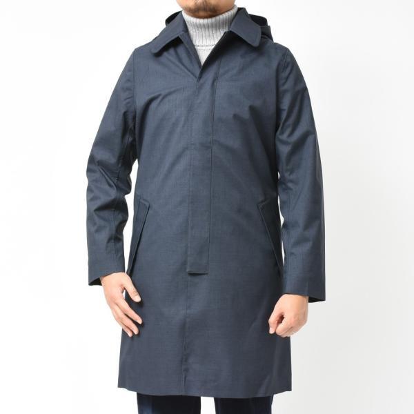Norwegian Rain(ノルウェージャンレイン)リサイクルポリエステルフーデッドバルカラーコート WALKER 426-9252971 14192403106 guji 03