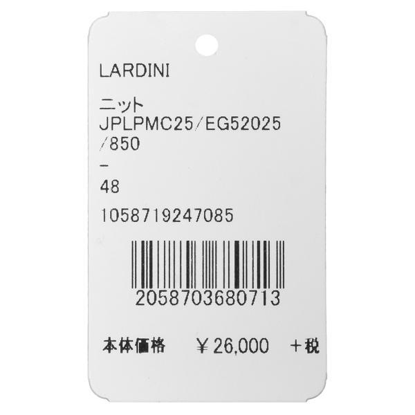 LARDINI(ラルディーニ)リネンジャガードソリッドS/Sニットポロ JPLPMC25/EG52025 16091001022 guji 15