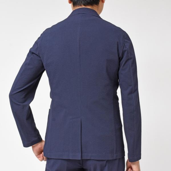 Giannetto(ジャンネット)コットンシアサッカー2Bシャツジャケット AG280JK 17091000109|guji|11