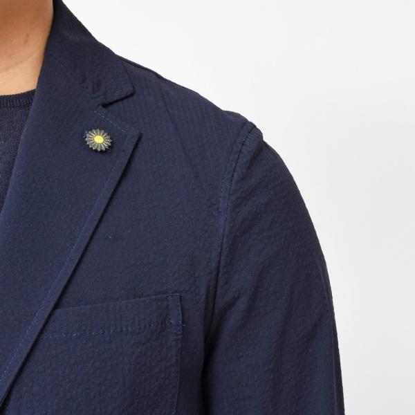 Giannetto(ジャンネット)コットンシアサッカー2Bシャツジャケット AG280JK 17091000109|guji|13