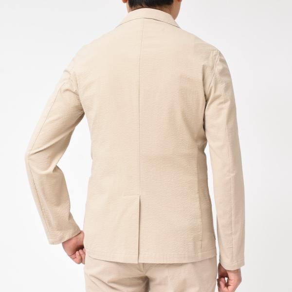 Giannetto(ジャンネット)コットンシアサッカー2Bシャツジャケット AG280JK 17091000109|guji|04