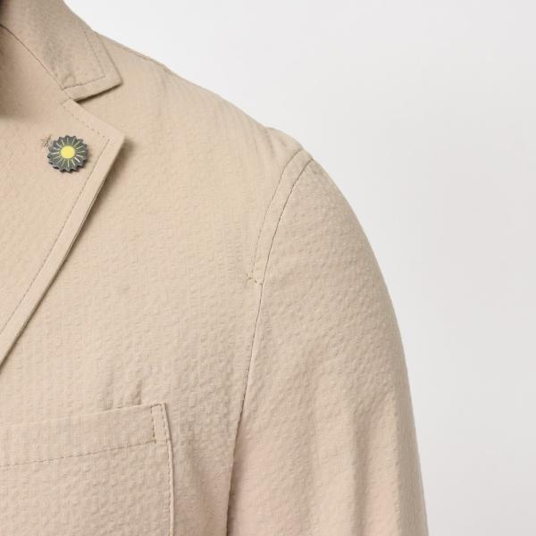 Giannetto(ジャンネット)コットンシアサッカー2Bシャツジャケット AG280JK 17091000109|guji|06