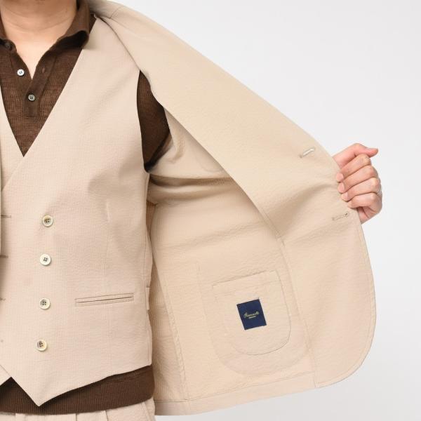 Giannetto(ジャンネット)コットンシアサッカー2Bシャツジャケット AG280JK 17091000109|guji|07