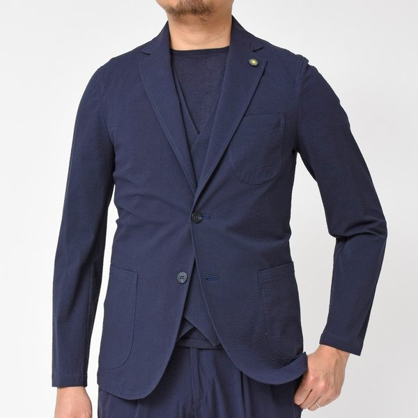 Giannetto(ジャンネット)コットンシアサッカー2Bシャツジャケット AG280JK 17091000109|guji|10