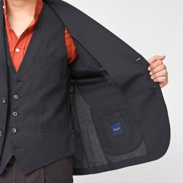 【SALE30】Giannetto(ジャンネット)コットンリネンソリッド2Bシャツジャケット AG835JK 17091001109◇◇|guji|14