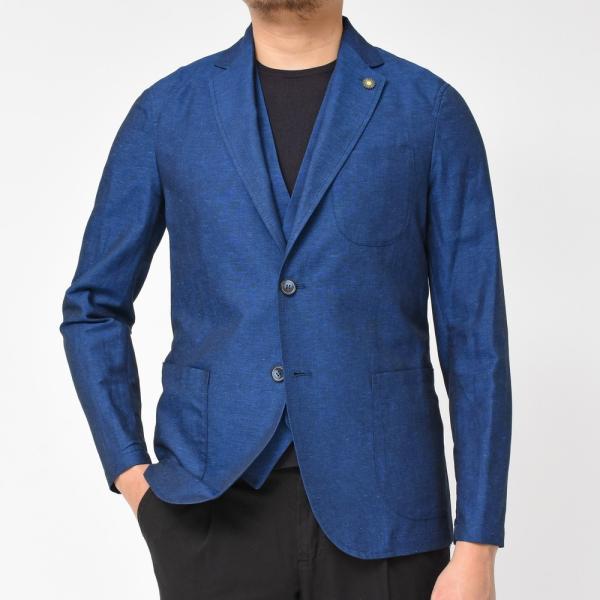 【SALE30】Giannetto(ジャンネット)コットンリネンソリッド2Bシャツジャケット AG835JK 17091001109◇◇|guji|03