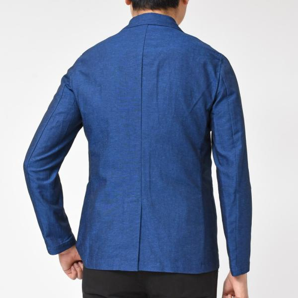 【SALE30】Giannetto(ジャンネット)コットンリネンソリッド2Bシャツジャケット AG835JK 17091001109◇◇|guji|04