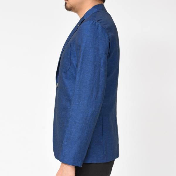 【SALE30】Giannetto(ジャンネット)コットンリネンソリッド2Bシャツジャケット AG835JK 17091001109◇◇|guji|05