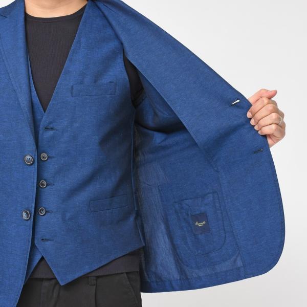 【SALE30】Giannetto(ジャンネット)コットンリネンソリッド2Bシャツジャケット AG835JK 17091001109◇◇|guji|07