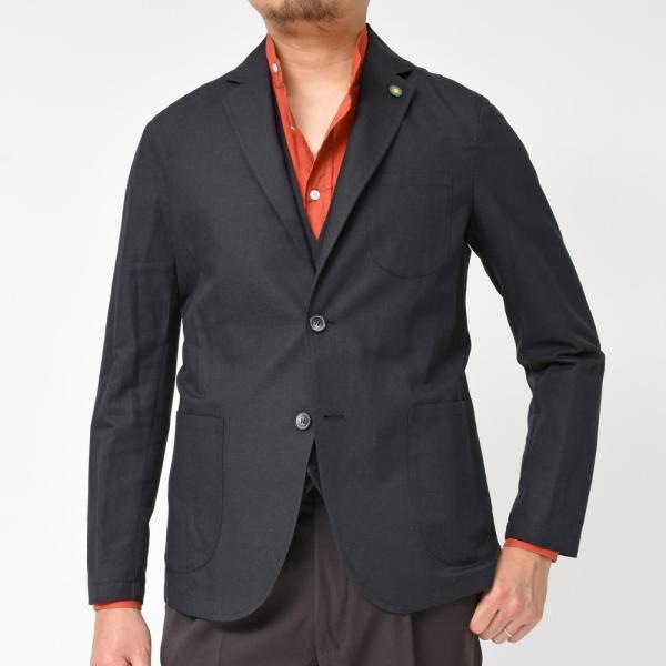 【SALE30】Giannetto(ジャンネット)コットンリネンソリッド2Bシャツジャケット AG835JK 17091001109◇◇|guji|10