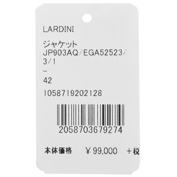 LARDINI(ラルディーニ)EASYイージー コットンウールポリジャガードシャドーストライプ3Bジャケット JP903AQ/EGA52523 17091002022|guji|11