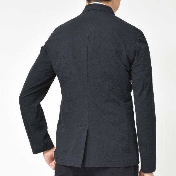 【SALE30】Giannetto(ジャンネット)コットンシアサッカーソリッド6Bダブルシャツジャケット AG300JKW 17091003109|guji|04
