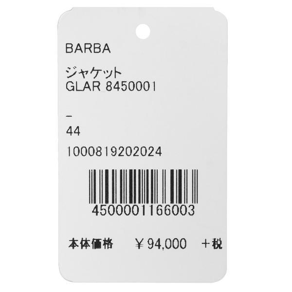 BARBA(バルバ)リネンシルクコットンペンシルストライプ3Bジャケット GLAR/8450001 17091006022◇◇|guji|11