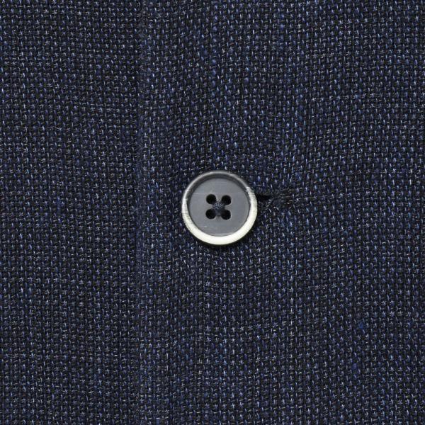 BARENA(バレナ) リネンコットンジャガードメッシュオープンカラーS/Sシャツ OSU2167 17091401025|guji|07