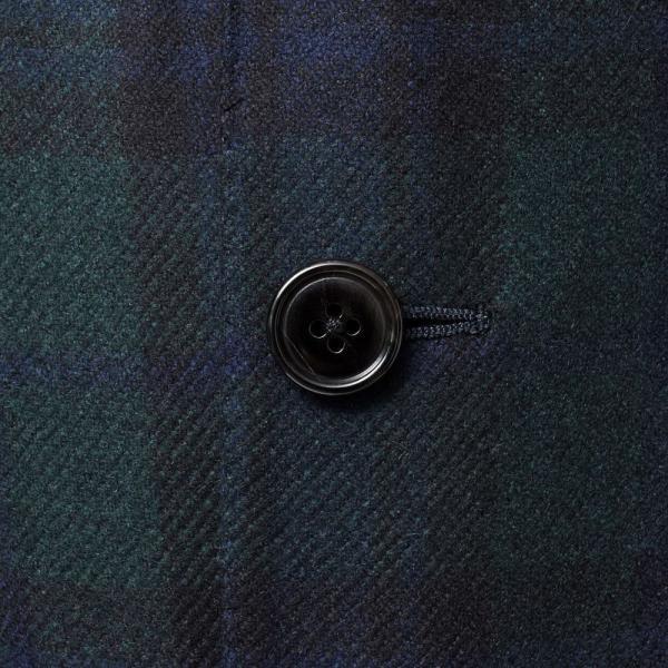 Belvest(ベルベスト)カシミアフランネルブラックウォッチ3Bジャケット NEW JACKET IN THE BOX G10647/22354-032 17092201020 guji 07