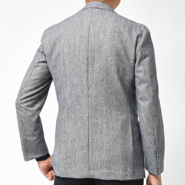 De Petrillo(デ ペトリロ)ウールライトツィードピンヘッド3Bジャケット NAPOLI/POSILLIPO 7418/2 17096003082|guji|04