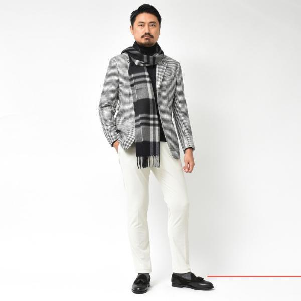 De Petrillo(デ ペトリロ)ウールカシミアライトツィードハウンドトゥース3Bジャケット NAPOLI/POSILLIPO TW20141F 17096004082|guji|02