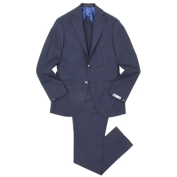 BARBA(バルバ)ウールトロピカルオルタネイトストライプ3B1プリーツスーツ SLELLO/1055002 17191012022|guji
