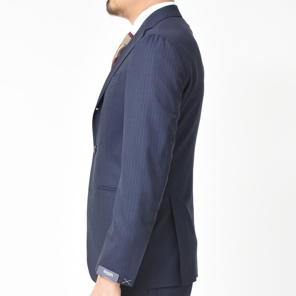 BARBA(バルバ)ウールトロピカルオルタネイトストライプ3B1プリーツスーツ SLELLO/1055002 17191012022|guji|05