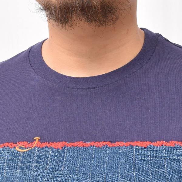 JACOB COHEN(ヤコブ コーエン)J4063 ウォッシュドコットンデニムパッチS/S Tシャツ 76145/1107-L 52195005052 guji 04