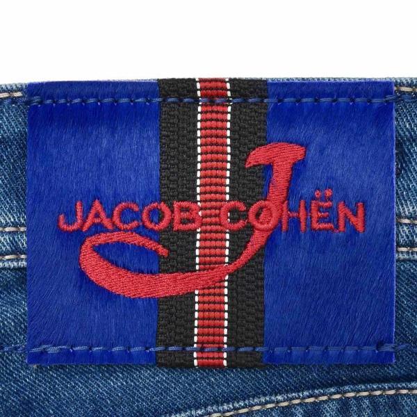 JACOB COHEN(ヤコブ コーエン)J622 ヴィンテージウォッシュコットンポリストレッチタイトストレートデニム 70268/1372-W2 53095003052|guji|08