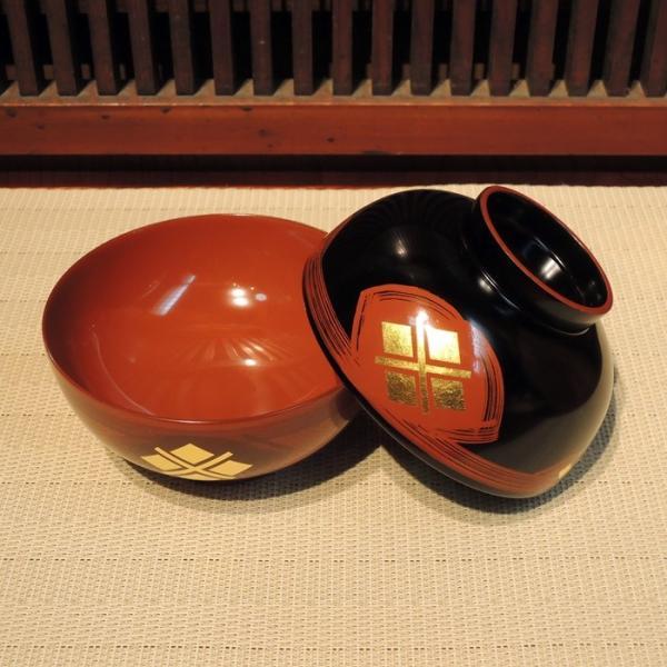 秀衡塗 夫婦汁椀 雲(内外同色)|gunkin-netshop|06