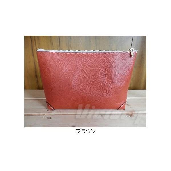 made in Japan(国産) 本革 ポーチ Lサイズ