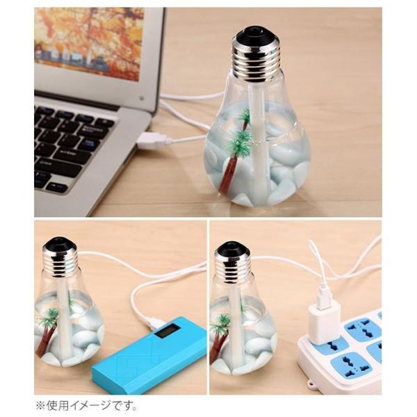 電球型加湿器(USBタイプ) WJ-8006