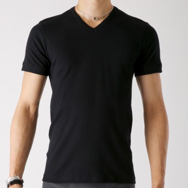 グンゼ Tシャツ V首 ボディワイルド 綿100 GUNZE BODY WILD/【直営店限定】VネックTシャツ(紳士)/BWB315U|gunze|05